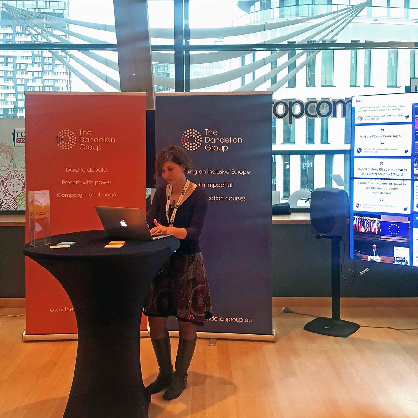 Elif at the EU Comittee of Regions